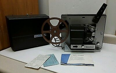 Vintage Bell & Howell Model 356A Autoload 8mm Projector Film Movie Projector