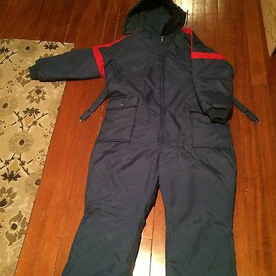 Vintage Full Body One piece Snow Suit  - Men's XL