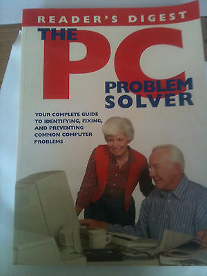 readers digest the pc problem solver paper back book reference