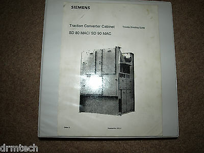 SIEMENS Traction Converter Cabinet SD 80 & SD 90 MAC TROUBLESHOOTING GUIDE