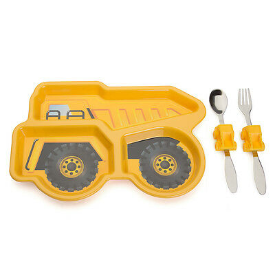 NEW Urban Trend Me Time Dump Truck Meal Set 3pce
