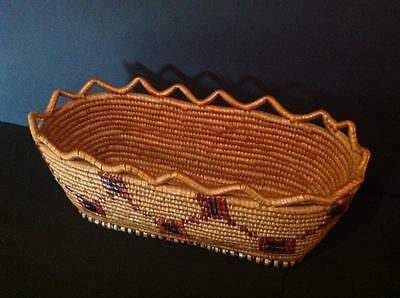 North West Native American Basket, Thompson River.