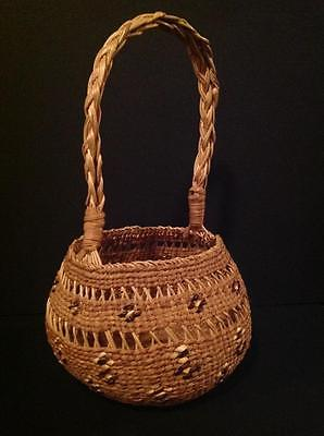 Siletz, North West Native American Basket