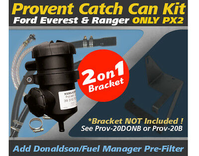 ProVent Catch Can Kit PROV-20 for Ford Everest, Ranger PX2 Only