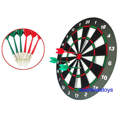 Board Set Dart Darts Game Cabinet Dartboard And Electronic New Wood 6 Room New