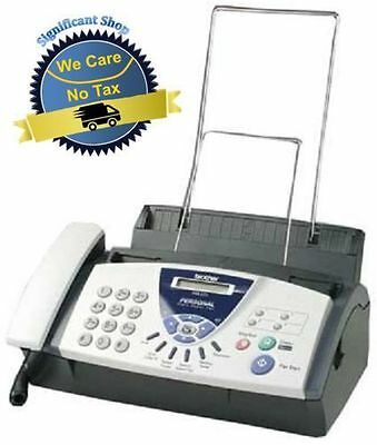 Personal Fax Machine Phone Copier 575 Compact Office Plain Paper Handset Unit US