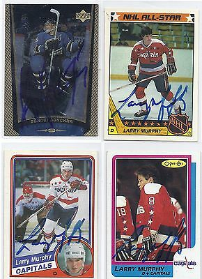 1998 UD#201 Sergei Gonchar Washington Capitals Signed Autographed Card