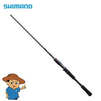 Shimano ZODIAS 168L-BFS/2 Light freshwater bass bait casting rod pole Japan