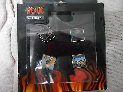 AC/DC collector pins, brand new in box