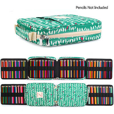 High Capacity Zipper Pens Pencil Case Multi-functional Stationery Pencil Pouch