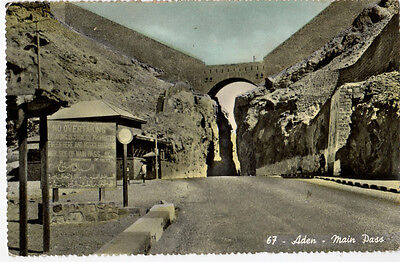 Aden, Main Pass ~ Old Real Photo Postcard (X12)
