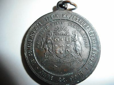 Australia 1911 Commerative Coronation Medal, New South Wales