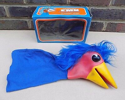 Vintage PLASTECH The Rod Hull Emu Glove Puppet (Boxed)
