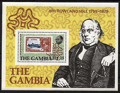 [RHL111]  Gambia 1979 Sir Rowland Hill (1795-1879) Issue  MNH