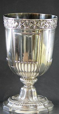 Magnificent Sterling Silver Cup Bowl Frape Marked 1342 Grams