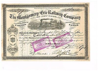 Montgomery and Erie Railway Co., 1901