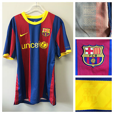 2010/11 Barcelona player issue s/s home shirt