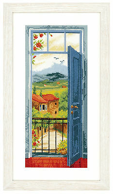 Vervaco Counted Cross Stitch Kit View Of Tuscany PN-0021690