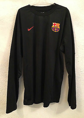 Barcelona player issue training sweater - large