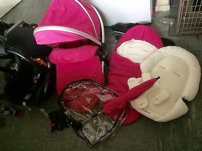 silver cross surf travel system Inc Accessories & Maxi Cosi Car seat