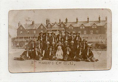 """""POSTCARD 5th MARGATE COY,GIRL GUIDES"""""