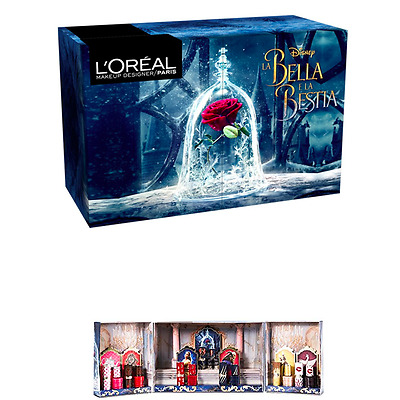Beauty and the Beast L'Oréal Make Up Paris BNIB Limited Edition Disney SET OF 2