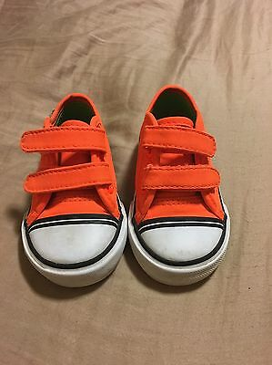 Kids Toddlers Vans Shoes Size 4