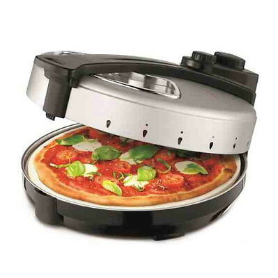 Kitchen Countertop Pizza Oven Maker Bench Top Electric 12 Inch Ceramic Cooking