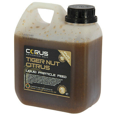 Tigernut Citrus Liquid Feed 1l Can Hydrate Boost Boilies Carp Fishing Attractor