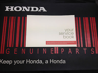 GENUINE HONDA Service Book - BRAND NEW - For all Honda models *FREE POSTAGE*