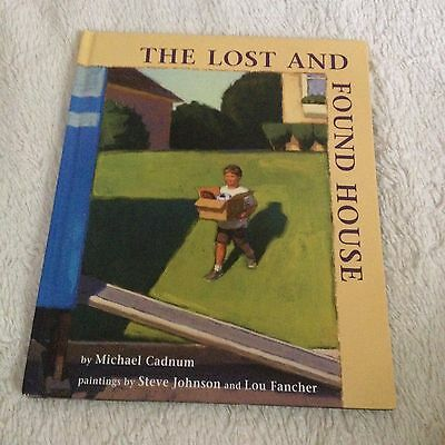 The Lost and Found House by Michael Cadnum Kids Hardcover Book
