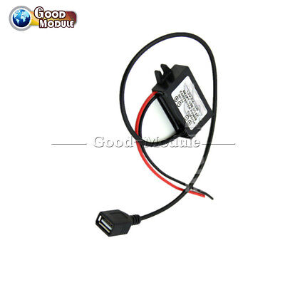 3A DC12V to 5V 15W Step down USB Converter Regulator for Iphone Ipad Car Charger