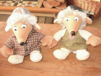 Two genuine Wombles soft toys