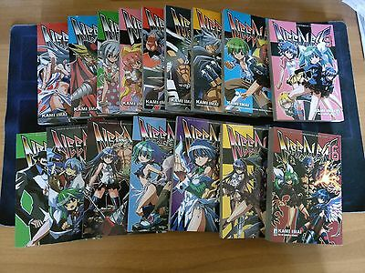 Needless Manga Serie Completa Volumi 1-16 Star Comics (Usato)