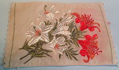 Kensitas Silk Flowers - MADONNA LILY- RED LILY Postcard no. 19 Coverless