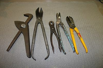Mixed Lot Old Tools Bodmanns Footprint Gilbow