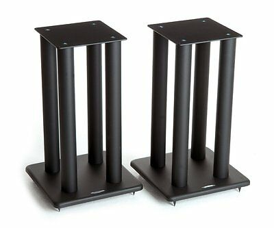 Atacama SL500i Speaker Stands Satin Black (Pair)
