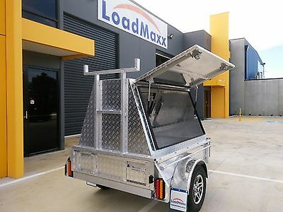 Top quality tradesman trailer 6x4 from Loadmaxx trailers