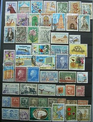56 Timbres Tunisie
