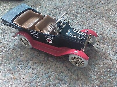 1917 Chrysler Touring Car Texaco  Die Cast Bank