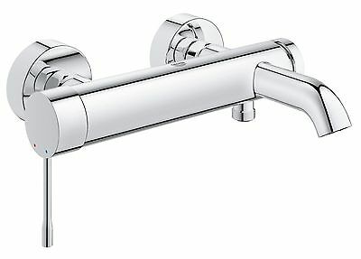 GROHE ESSENCE Shower Bath Wall Mounted Single Lever Mixer Tap 33624001 NEW