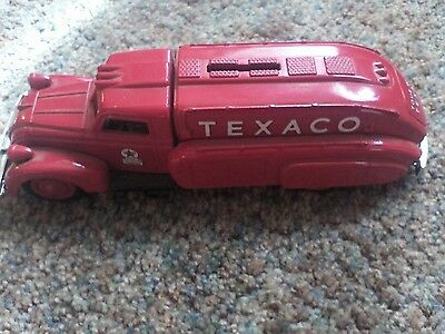 1939 Dodge Airflow Texaco Tanker Truck Die Cast Bank