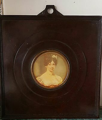 "Lovely Vintage Bakerlite Art Deco Style Picture Frame 5"" Square."