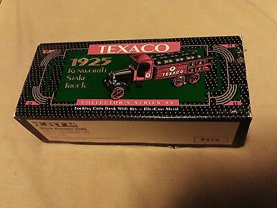 1925 Texaco Kenwood Truck Die Cast Bank