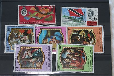 Trinidad, card of stamps- lot  209