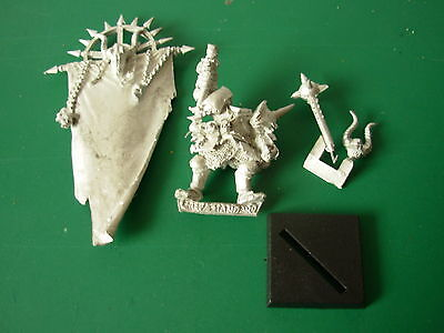 Limited Edition Chaos Battle Standard from Box Set Rare OOP