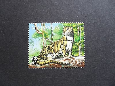 Malaysia 1995. 20c Endangered Species - Clouded Leopard. SG563. Mint/MNH.