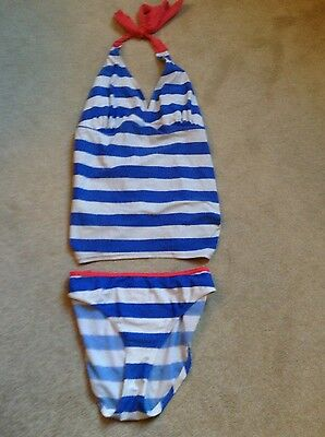 blooming marvellous striped tankini size 16