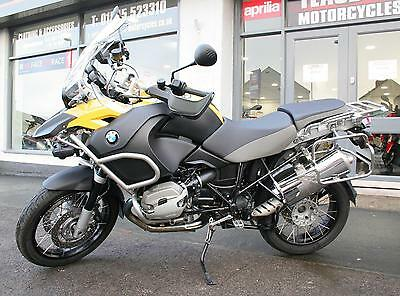 2011 Bmw R1200 Gs Adventure - Yellow