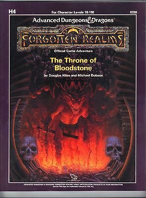 The THRONE of BLOODSTONE H4 Forgotten Realms  9228 Price Inc Del in UK